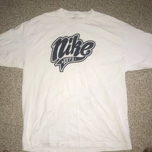 "A Nike ""1972"" white t-shirt"